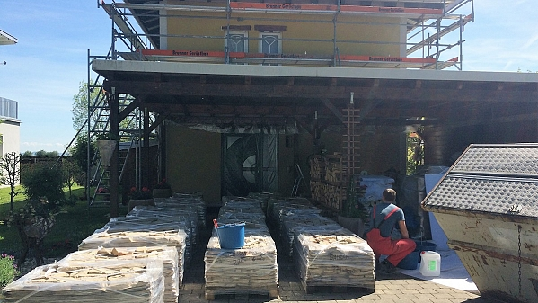 Reconstruction of the family house facade by Lake Constance - Mix Toscana 774